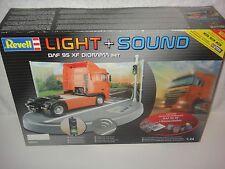 REVELL LIGHT + SOUND DAF 95 XF DIORAMA SET 1/24 (SKILL LEVEL 5) 9031