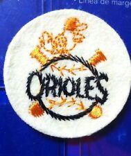 Vintage Baltimore Orioles Baseball Team Logo Patch Pre 1972  Nice