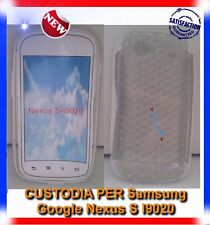 Pellicola+Custodia EXA CLEAR per Samsung I9020 Nexus S (B4)