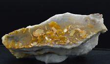 Wulfénite sur hémimorphite - 292 grammes -  Mexique
