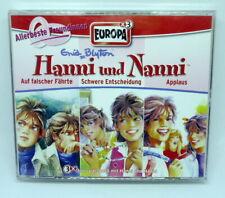 Hanni und Nanni 3er Box - Folgen 25 / 26 / 27 - Europa Hörspiel CD