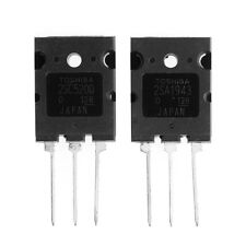 1 pair of A1943 C5200 2SA1943 2SC5200 High Power Amplifier Tube