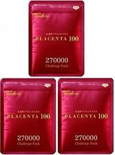 [Set of 3] Placenta 100 270000 Challenge Pack made in JAPAN