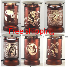 Electric Metal Fragrance Lamp Touch control Oil Warmer Wax Burner