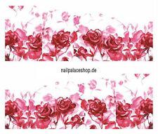 Nail Art Nageldesign Water Transfer Nagel Sticker Full Cover Blumen STZ-271