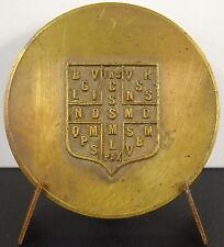 Médaille protection & croix de Saint Benoît sc A J Corbierre c 1920 50 mm Medal