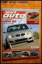Sport Auto 12/04 BMW M5 Audi RS6 Opel Speedster