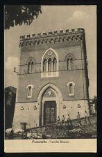 Cartolina - FARNETELLA DI SINALUNGA (Siena) Castello Besozzi (2)- VG busta 1955