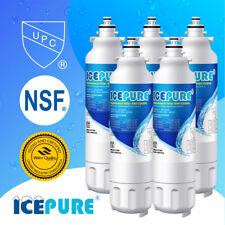 5 Pack Fit LG LT800P Kenmore 9490 ADQ73613402 Refrigerator Water Filter Icepure