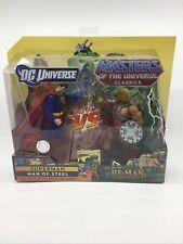 Mattel DC vs Masters of the Universe Classics SUPERMAN vs HE-MAN New/Sealed
