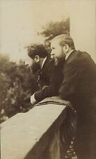 PHOTO VINTAGE : Albert & Gaston TISSANDIER Jacques DUCOM albumine Ballon captif