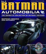 Dc Automobilia Figurine #3 2005 Batman Begins Tumbler Eaglemoss