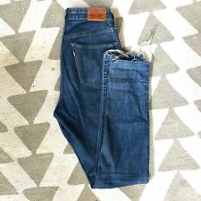 Women's 721 Levi High Waisted Skinny Jeans 29Wx32L