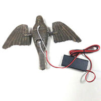 Electric Flying Bird Decoy with Spinning Wing Motion Decoy Shooting Hunting