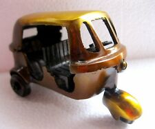Collectible Brass Handcrafted Decorative Tuk Tuk Taxi / Auto Rickshaw Model Toy