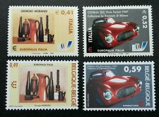 Italy Belgium Joint Issue Europalia 2003 Car Transport Vehicle Art (stamp) MNH