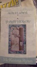 mckenna ryan quilt pattern - FOREST HOLLOW: block 6: NESTLED IN. Unused.