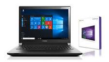 Lenovo Notebook 15,6 Zoll - Quad Core 4 x 1.80 GHz  - 120 GB SSD - 4 GB - Win 10