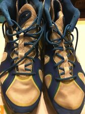 Blue/ Neon Nikes 24 JR Size 12 Men's Used