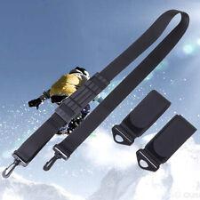 Ski Double Cross Belt Skiing Snowboard Alpine Snow Board Detachable Holder RC