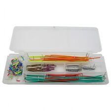 140PCS Bread Board Jumper Wire Kit for Solderless Breadboard for PIC/Arduino/AVR