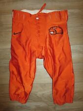 Oregon State Beavers Football Team NCAA Nike Game used Worn Pants