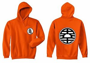 UNISEX HOODIE Z KAME Ball Dragon Ball Symbol Adult Hooded Sweater S-5XL