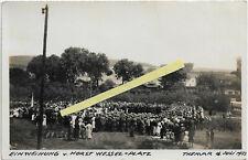 Themar ( Kr.Hildburghausen ) orig.Foto v.1933 - Aufmarsch - Einweihung