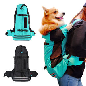 Dog Carrier Backpack for Small and Medium Dogs Front Facing K9 Sport Sack Bag