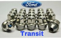 Set of 20 x Ford Transit Custom Wheel Nuts M14x1.5mm For OE Alloy Wheels