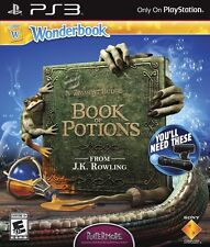 PS3 Wonderbook: Book of Potions (Sony PlayStation 3, 2013) NEW & SEALED