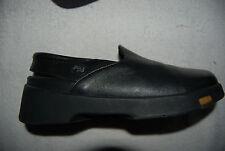 Black Leather Birkenstock FOOTPRINTS Slingback Style Low Shoes EU 36 US 5 - 5.5