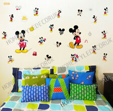 Disney Wall Stickers Mickey Mouse Bedroom Nursery Art Mural Home Decal UK Seller