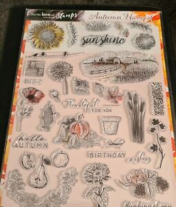 The Autumn Harvest Clear Stamps