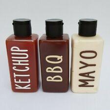 Set of Four Personalised Mini Plastic Bottles. Camping, Campervan, Travel Gift.