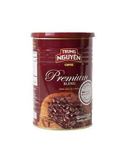 Trung Nguyen - Premium Blend - 15 Ounce Can | Vietnamese Coffee Ground Bean,