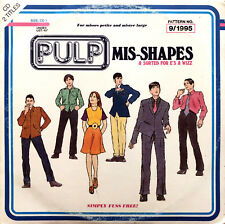 Pulp CD Single Mis-Shapes & Sorted For E's & Wizz  - Europe (VG/VG)