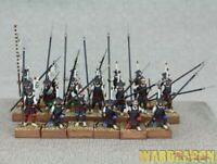 28mm WarLord Games WDS painted Ashigaru Spearmen j48