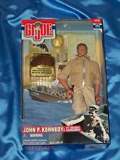"G.I. JOE-JOHN F. KENNEDY: 12"" Poseable Figure, PT 109 Boat Commander-2000, New"