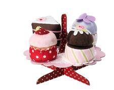 IKEA grattis 5 pièces Doux Serving stand avec Cupcakes Set Enfants Cuisine Jouet Play