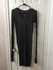 Rick Owens Lilies Long Dress Sz 6 Us