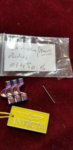 3 invicta  venom(model 01450)  watch links 26 mm stainless steel rainbow/p color