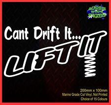 LIFT IT Drift 4x4 accessories Ute Lift kit Funny Car Stickers 200mm