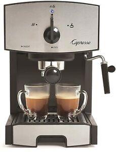 Capresso EC50 Stainless Steel Pump Espresso and Cappuccino Machine, Brand New