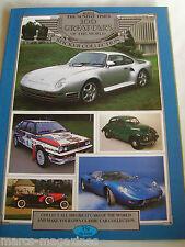 RARE THE SUNDAY TIMES 100 GREAT CARS OF WORLD STICKER ALBUM BOOK EMPTY UNUSED