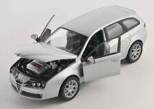 BLITZ VERSAND Alfa 159 Sportwagon silber / silver 1:24 Welly Modell Auto NEU OVP