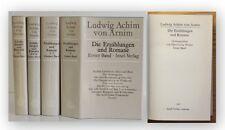 Arnim Die Erzählungen und Romane 1981 4 Bde Belletristik Insel Verlag xy