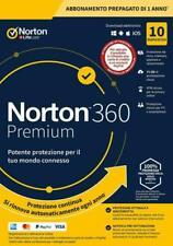 Norton 360 Premium 2020 Antivirus (10 Dispositivi, 75 GB)