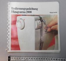 Bedienungsanleitung Husqvarna 2000  #5480#