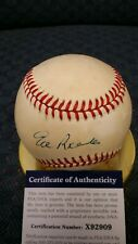 Ed Roebuck autographed NL Feeney baseball. PSA authenticated.